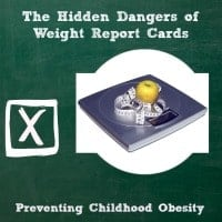 Weight report cards to prevent childhood obesity