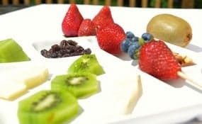 Healthy fruit snack for kids