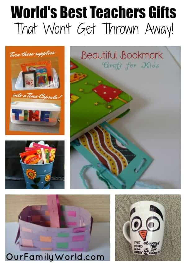 Looking for back to school gift ideas for teachers? Check out our favorites that won't get tossed in the rubbish bin after the first day of school!