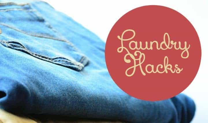 Got a mountain of never-ending laundry? Check out these Laundry Hacks that will totally save your life...or at least a little of your time. Let's face it, we'll never get away from doing laundry, so we might as well make the best of it!