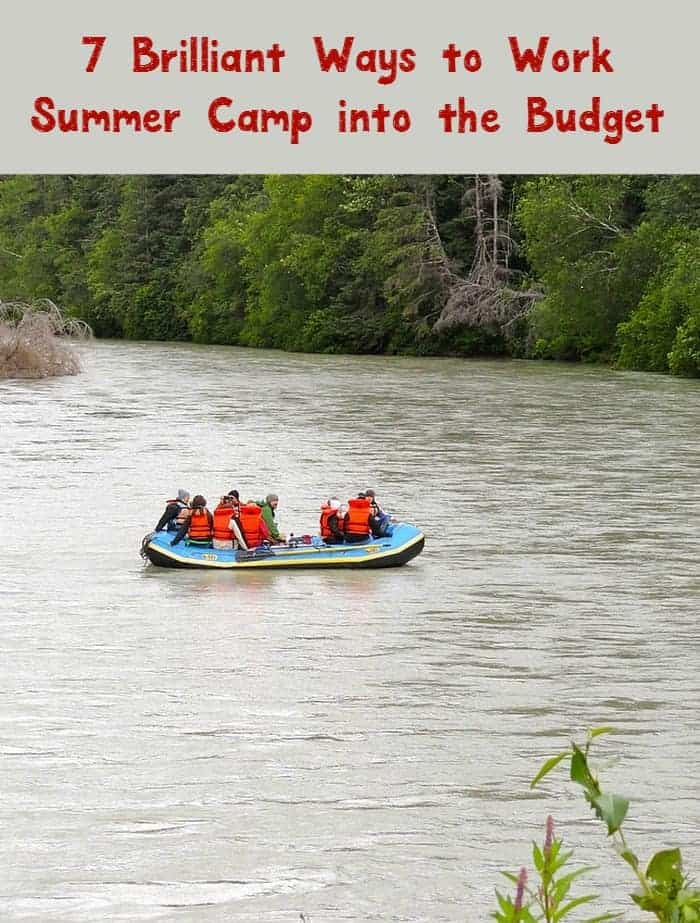 Thinking of sending your kids to summer camp? Check out these tips to decide if it's worth the cost, plus 7 ways to work it into your budget!