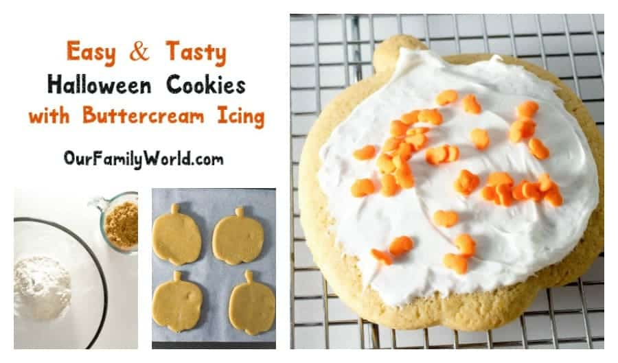 Ready to some not-so-spooky fun? This pumpkin-shaped Halloween cookies recipe is just calling for you to make it with your kids! Check it out!