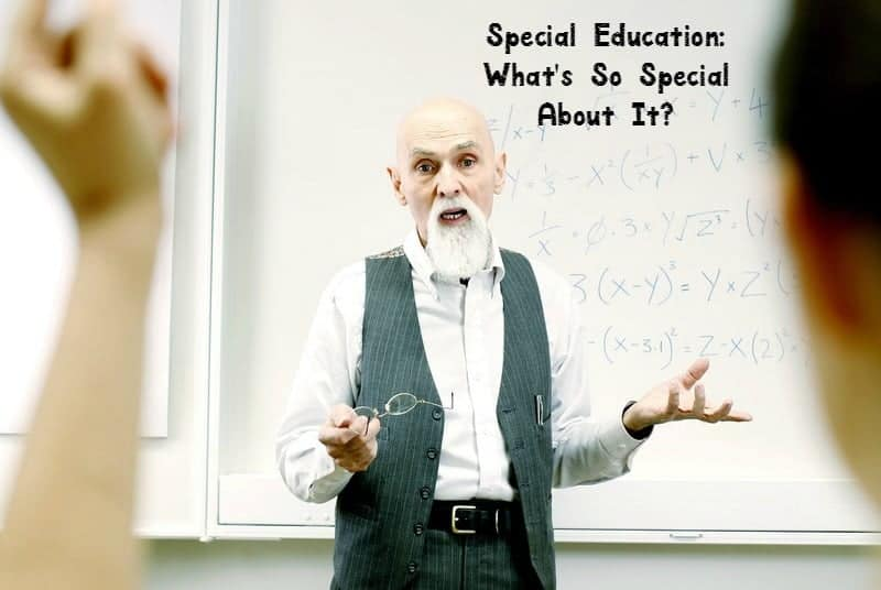 Special education: what's so special about it? That's the question our special guest writer answers, along with some great parenting tips for homeschoolers!