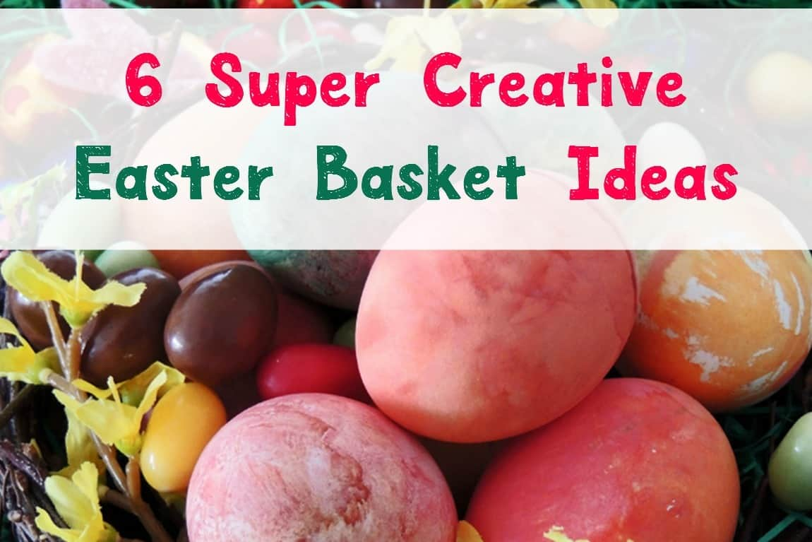 Need a few super creative Easter basket ideas to really elevate your holiday fun? Check out these 6 unique baskets!