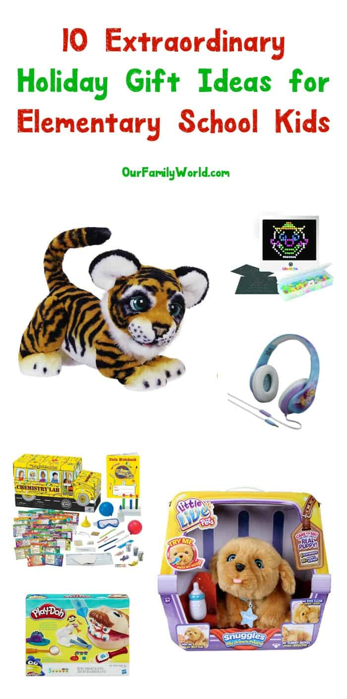 Need a few fun holiday gift ideas for elementary school students? We're in love with these 10 top toys and games! Check them out!